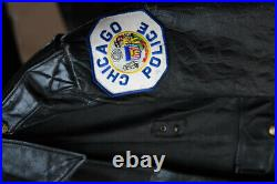 Blouson Chicago Police Cuir Collection