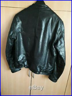 Blouson Cuir Homme Redskins Noir Casual Motard Redskins Comme Neuf Taille M