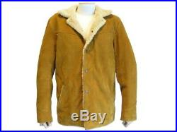 Blouson Levi's Vintage Clothing Sherpa M 50 Cuir Mouton Jacket Shearling 1140
