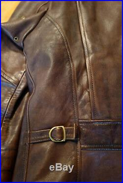 Blouson Perfecto Thedileather Cuir Marron