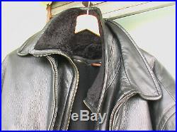 Blouson cuir de cerf SERAPHIN made in France Makers for Hermes Paris 52 54