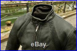 Blouson moto en cuir pour homme vintage DAINESE MADE ITALY taille XS/S