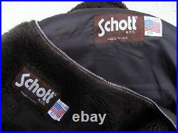 MYTHIQUE SCHOTT NYC 184 SM FLIGHT JACKET MADE IN USA BLOUSON HOMME No Perfecto